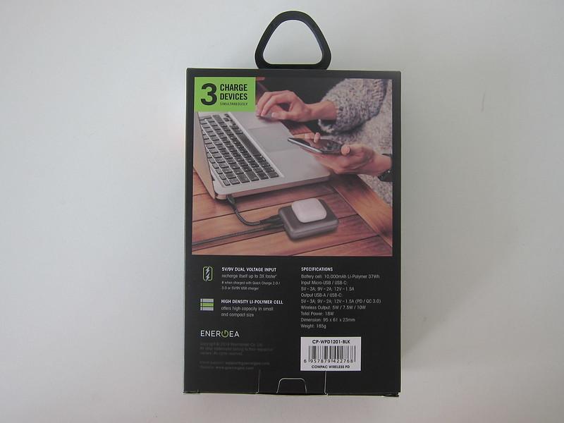 Energea ComPac Wireless PD - Box Back