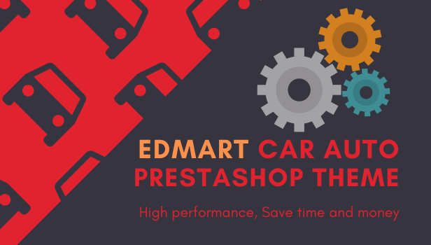 Edmart - Auto Parts & Cars Store Prestashop Theme