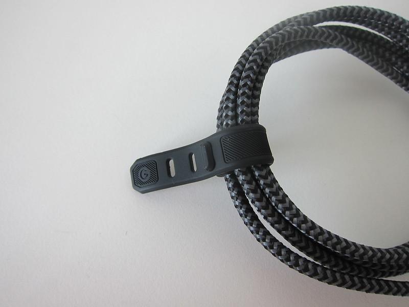 Energea FibraTough USB-C to Lightning Cable - Cable Tie