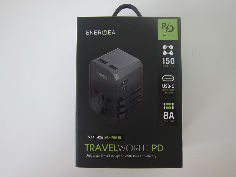 Energea TravelWorld Adapter PD - Box Front