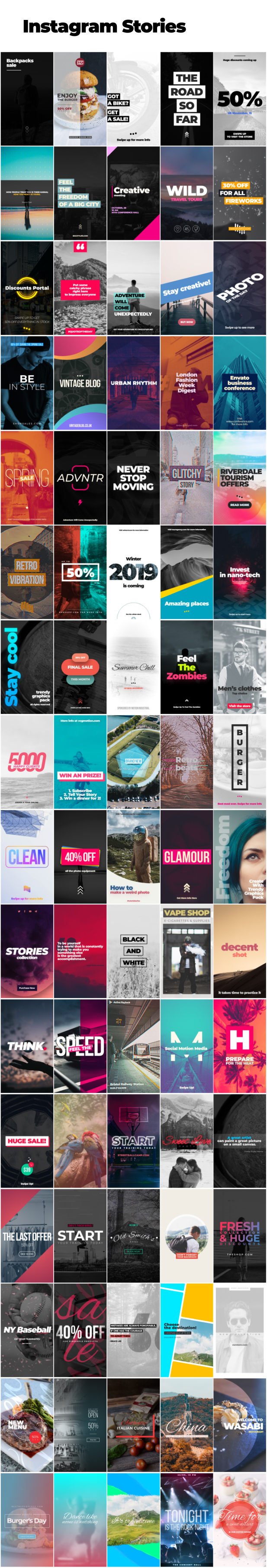 Motion Graphics Pack - 8