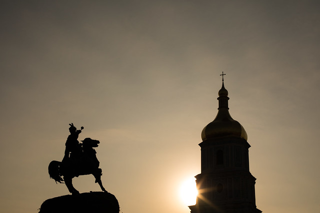 Sunset Silhouettes, Kyiv