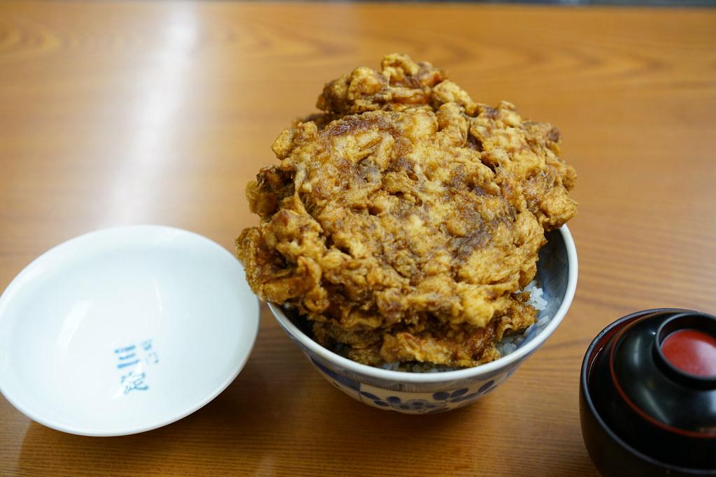 天ぷら 三定(さんさだ)_中かき揚げ丼5