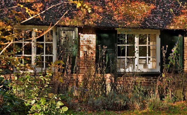 Autumn sun at the windows..HWW