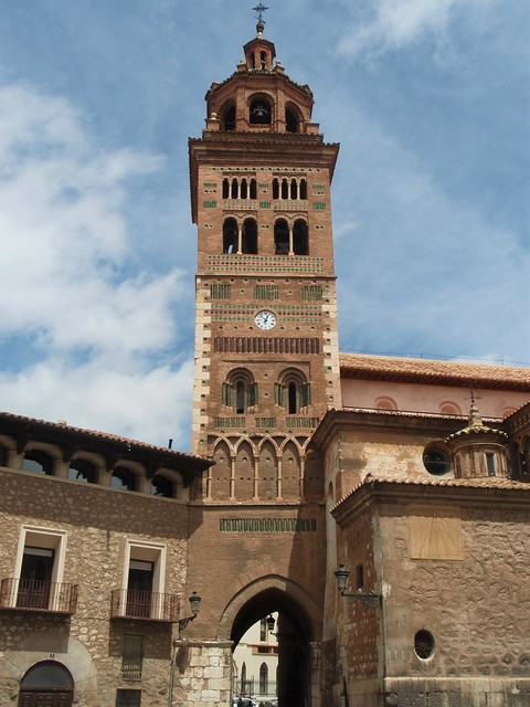 Teruel - Torre mudéjar de la Catedral.