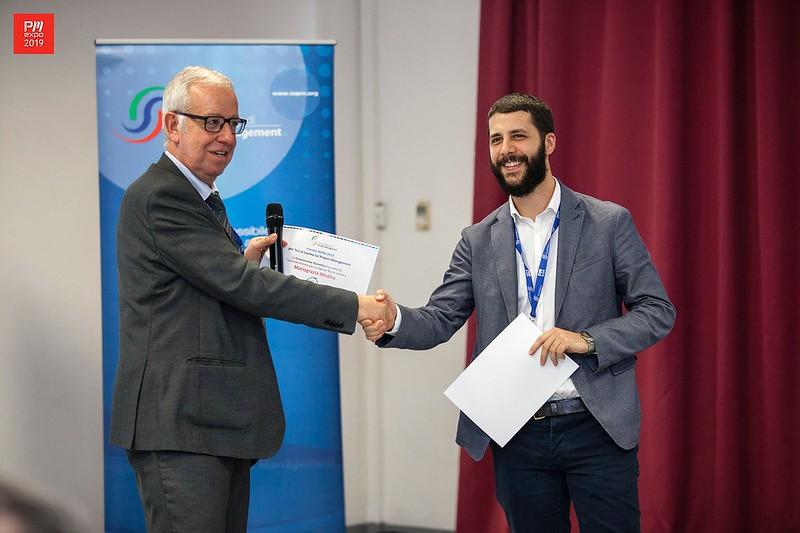 Premiazione tesi di laurea su tematiche di Project Management, Alessandro Gnaldi, 2° premio ex equo