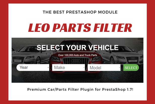 Edmart - Premium Auto Parts Prestashop Theme - leo parts filter module
