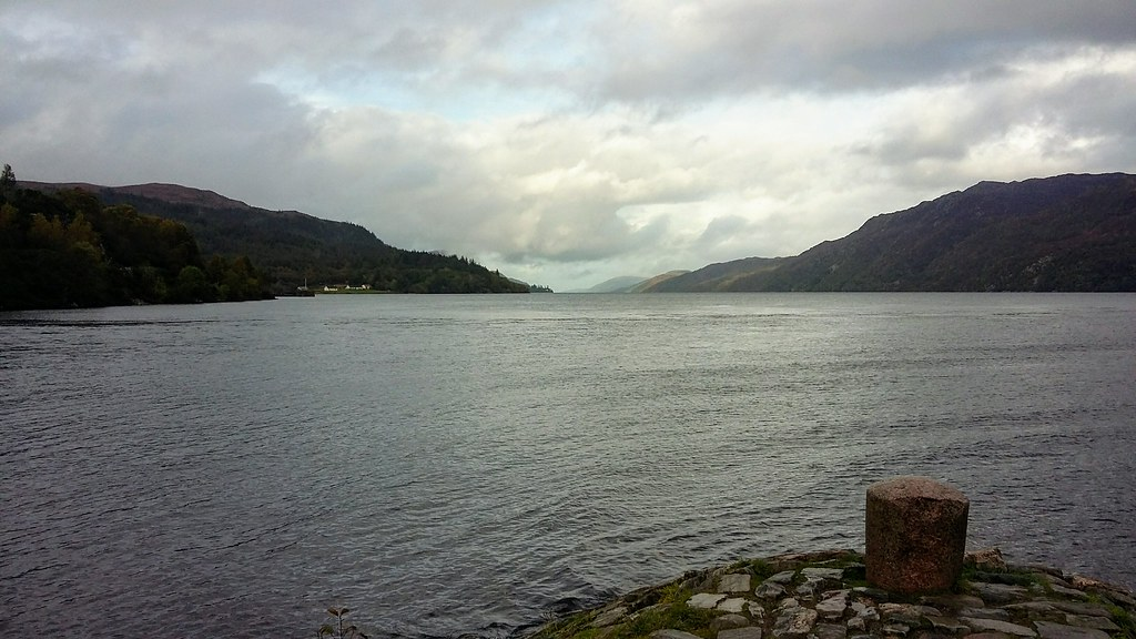 Loch Ness from Fort Augustus, Oct 2019