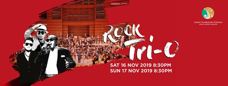 Peraduan Menang Tiket Konsert Rock Tri-O di Dewan Filharmonik Petronas