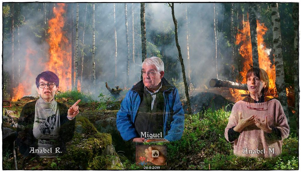 Sesión del 8-11-19 del Club de los Cuentista: el fuego