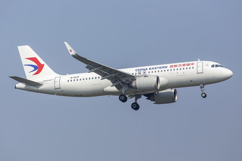 B-307F A320NEO China Eastern Airlines 21-09-19 TSN maarten-sr