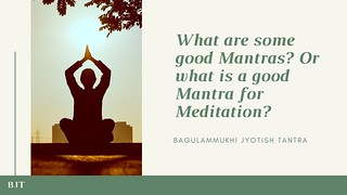 What is a good mantra for meditation
