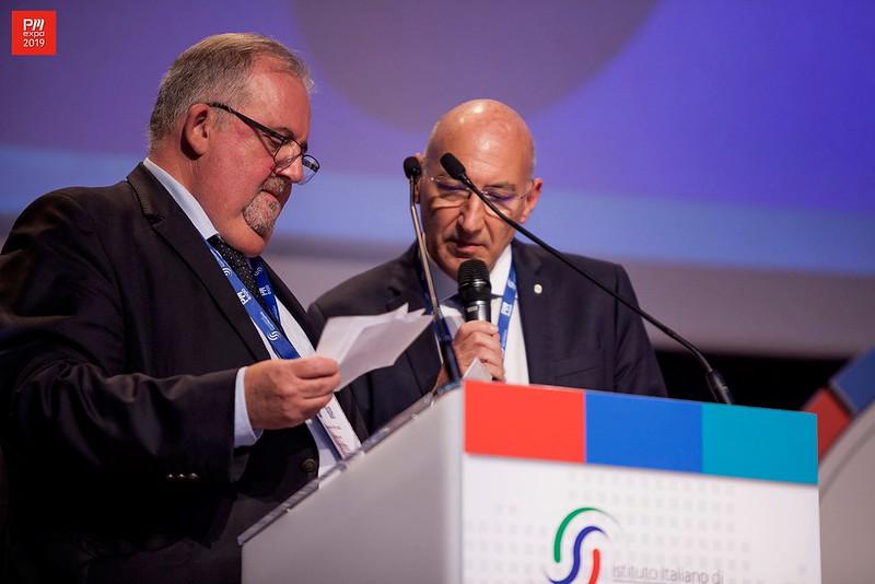 International ISIPM Award, Massimo Pirozzi e Graziano Trasarti
