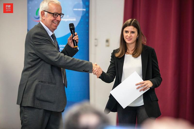 Premiazione tesi di laurea su tematiche di Project Management, Silvia Starera, 1° premio