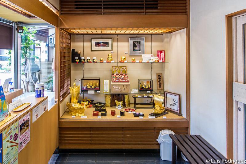 Tienda de Sakuda en Kanazawa