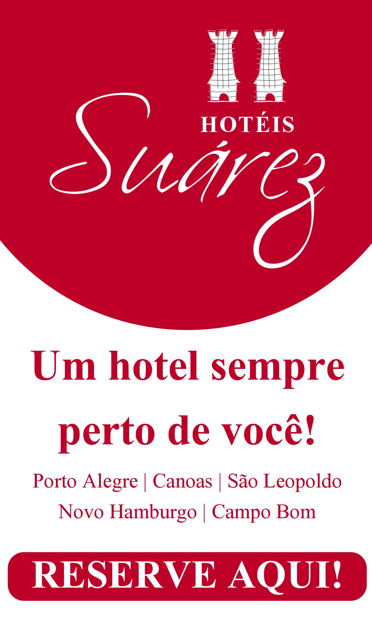 Hospede-se na Rede de Hotéis Suárez, um hotel sempre perto de você! CLIQUE AQUI PRA FAZER SUA RESERVA