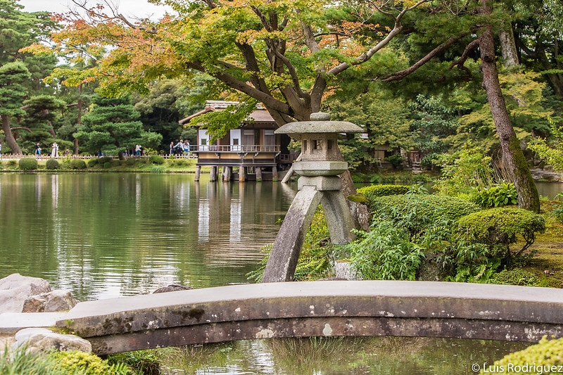 Jardines Kenrokuen en Kanazawa