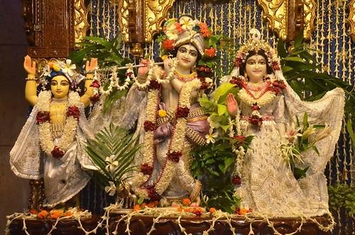 ISKCON Kolkata Deity Darshan 12 Nov 2019