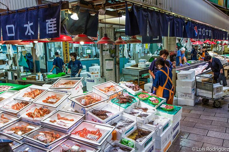 Espectacular selección de cangrejos y crustáceos