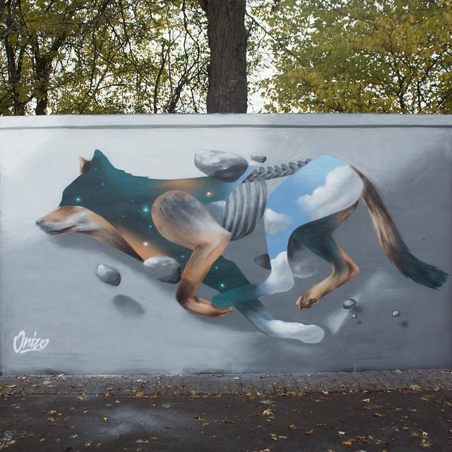 ''Kosmiczny Wilk'' - Warszawa, Poland