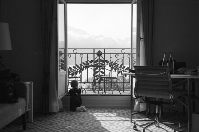 Room with a View - Montreaux (Adox Silvermax)