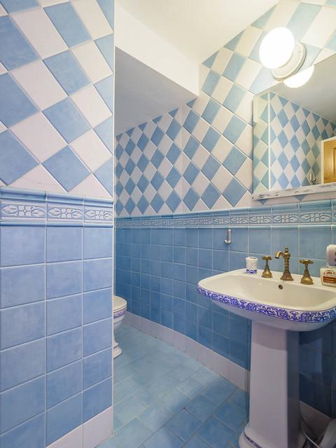 Baño habitación Rustic con ducha primera planta Masía can Trabal