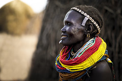 Nyangatom woman - Ethiopia.