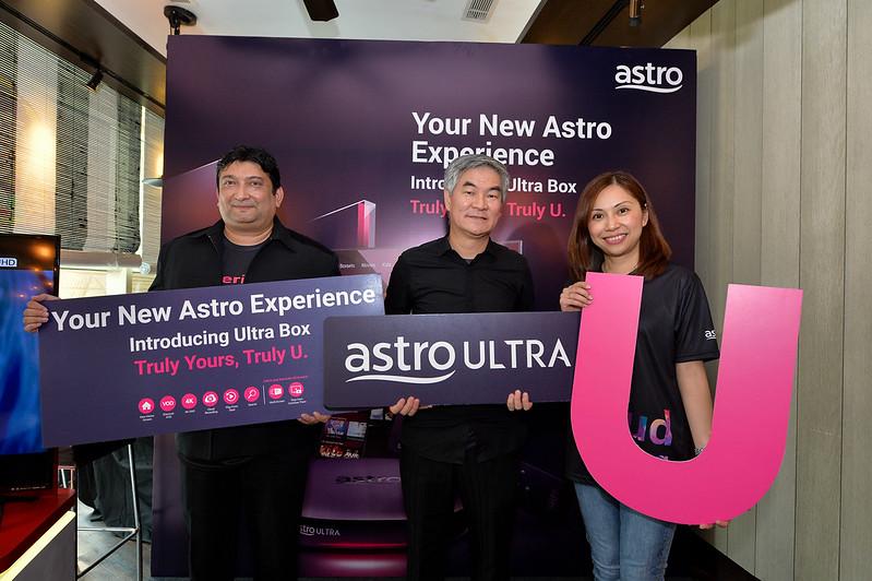 Majlis Pelancaran Astro Ultra Box