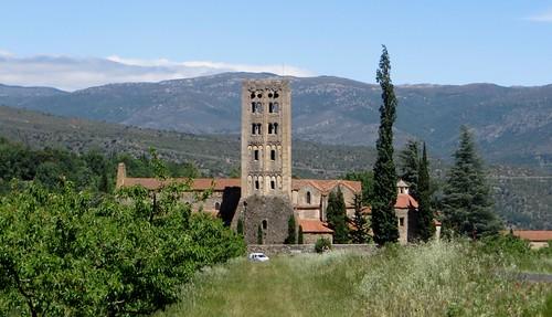 Abbaye Saint Michel de Cuxa (Xe-XIe-XXe), Codalet, Conflent, Pyrénées-Orientales, Occitanie, France.