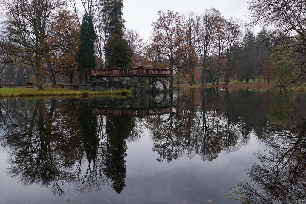 Im Park von Schloss Matzen