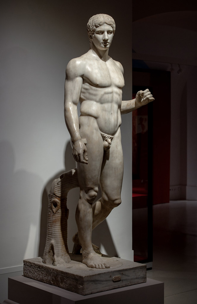 Doryphoros. Naples, National Archaeological Museum.