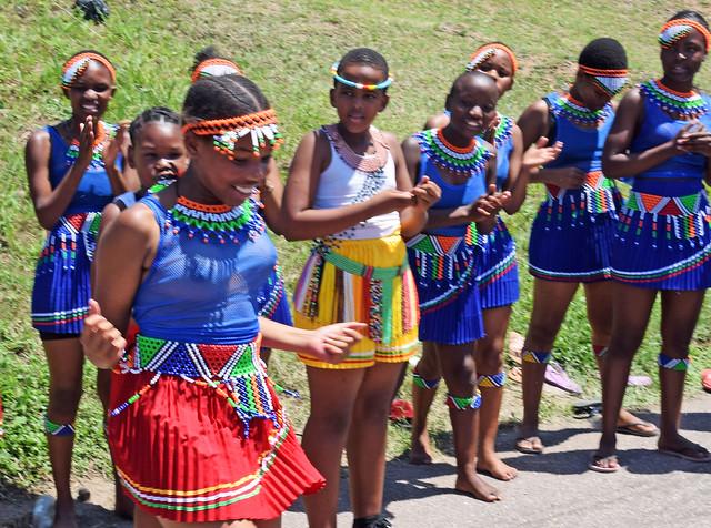 DSC_9173c Sbusi Zulu Umemulo Coming of Age Ceremony South African Zulu Cultural Singing and Dancing Umlazi Durban November 2019