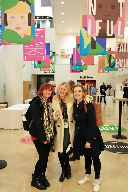 Lorna, Emily and Natalie at the ODI summit