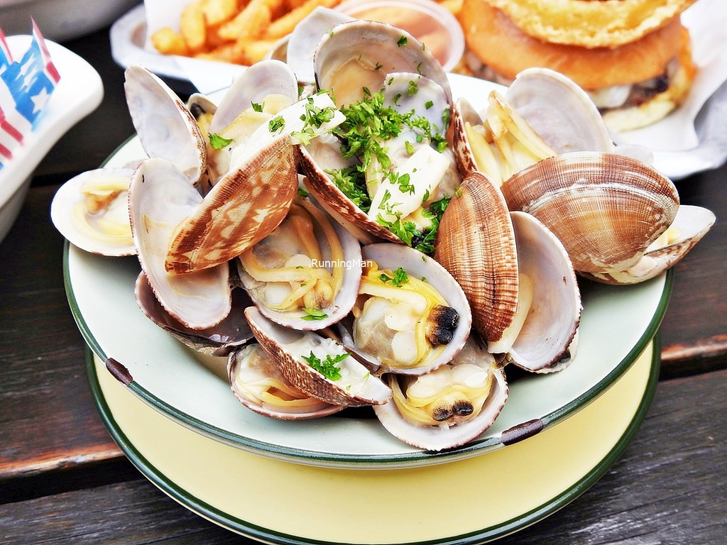 Buttered Clams