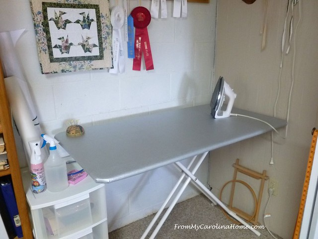 Remaking an Ironing Board at FromMyCarolinaHome.com