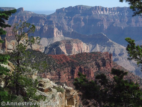 More cliffs and buttes near Atoko Point, Grand Canyon National Park, Arizona