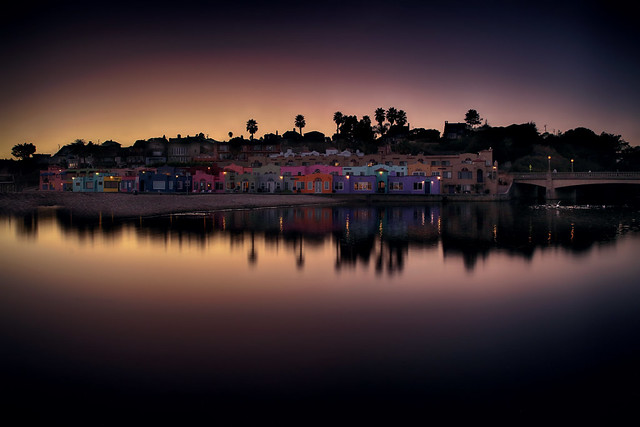 Capitola Beach at Night
