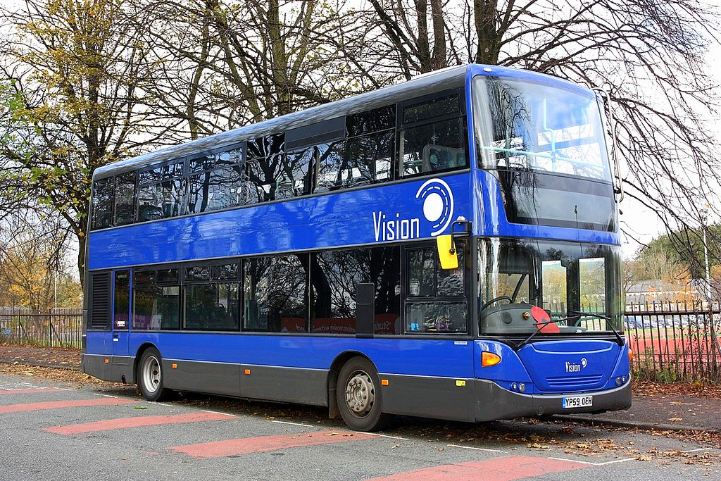 Vision Bus of Blackrod at Bury