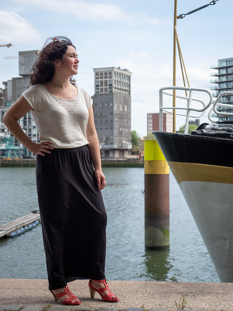 Laura, Rotterdam 2019: Harbour girl