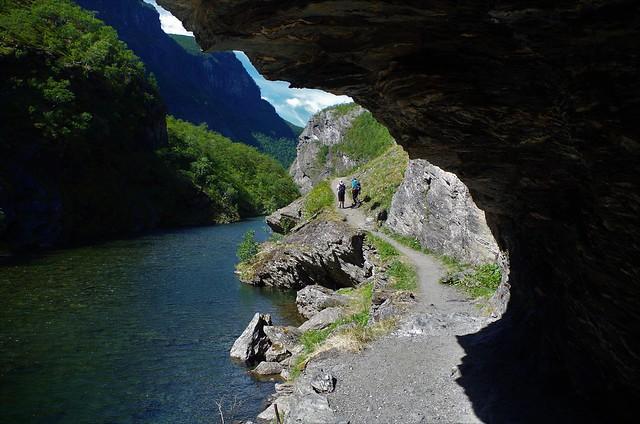 Vreemde Voettocht Aurlandsdalen Noorwegen
