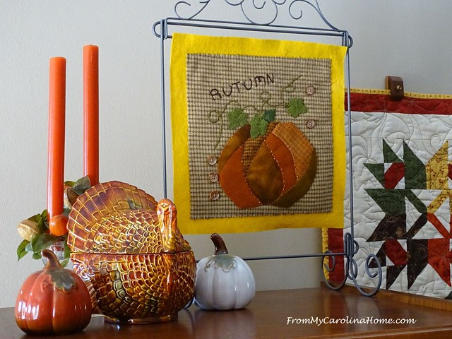 November Decorating at FromMyCarolinaHome.com