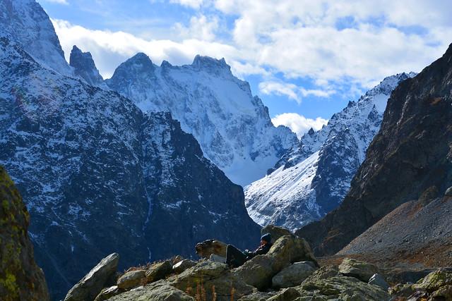 Repos bien mérité refuge du glacier blanc France_2369