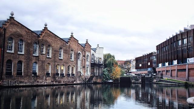 Revamped Camden Locks Approaches