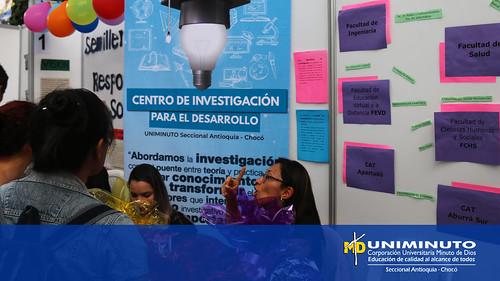 Los semilleros de investigación de UNIMINUTO Seccional Antioquia Chocó se reunieron para compartir sus conocimientos
