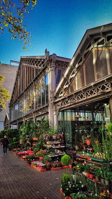 Barcelona. Mercado de la Concepción.