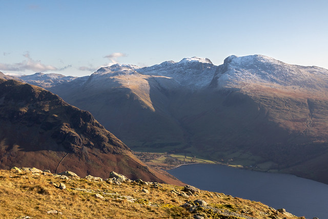 Morning Light from Middle Fell