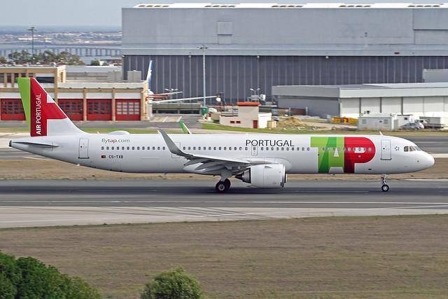 TAP Portugal Airbus A321-251NX CS-TXB LIS 16-10-19