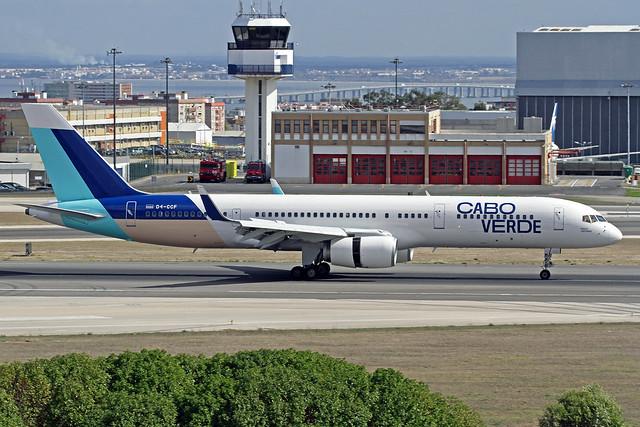 TACV - Cabo Verde Airlines Boeing 757-236 D4-CCF
