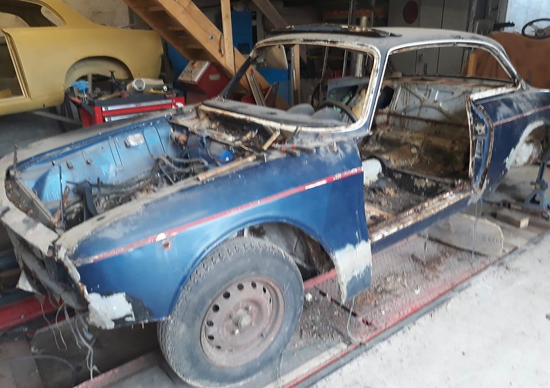 Alfa Romeo 1750/S2 / Restauration en cours / Nielman Racing Team -  49060184848_68ddd0d2cc_c