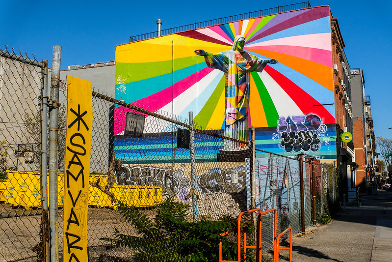 Walk In New York - Brooklyn - Bedford–Stuyvesant - Eduardo Kobra - Christ Redeemer (3)